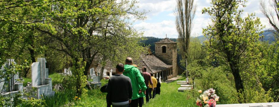 Hiking and exploring in scenic Voskopoja
